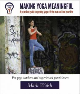 Making yoga more meaningful
